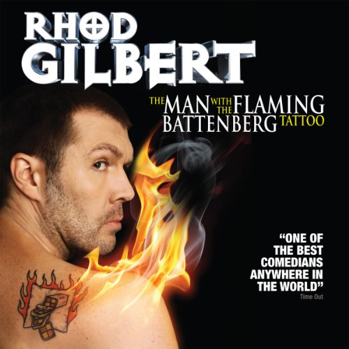 The Man with the Flaming Battenberg Tattoo audiobook cover art