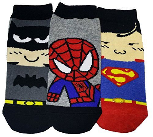 JJMax Calcetines de colección Boy's Cotton Blend Superhero