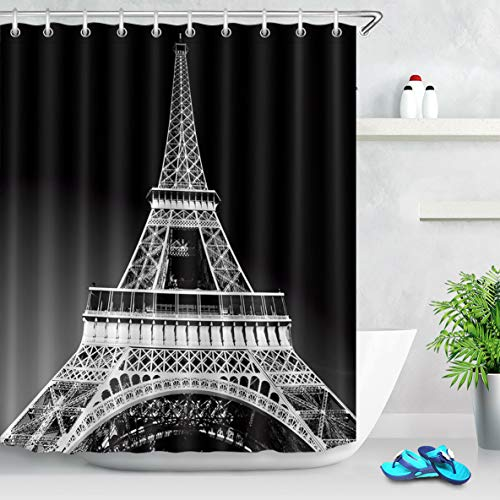 cortinas baño transparente