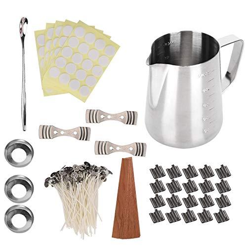 Kits de fabricación de velas, Kit de velas de bricolaje Suministros de fabricación de velas, para regalo de velas hecho a mano de bricolaje