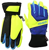 Reusch Kinder Handschuhe Torbenius R-TEX XT Junior, imperial blue /neon yellow, 5, 4361210