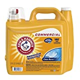 Arm & Hammer 33200-00106 Dual HE Liquid Laundry Detergent Clean Burst...