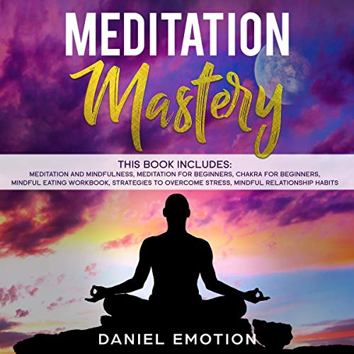 Meditation Mastery audiobook cover art