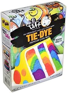 Duff Goldman, Tie-Dye, Premium Cake Mix, 18.25oz Box (Single) by Duff