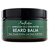 Shea Moisture Mens Beard Balm, All Natural ingredients, Made With Maracuja Infused Shea Butter,...