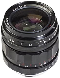 Voigtlander NOKTON 35 mm f / 1.2 II Asphericalワイド角度Leica Mマウントレンズ – ブラック