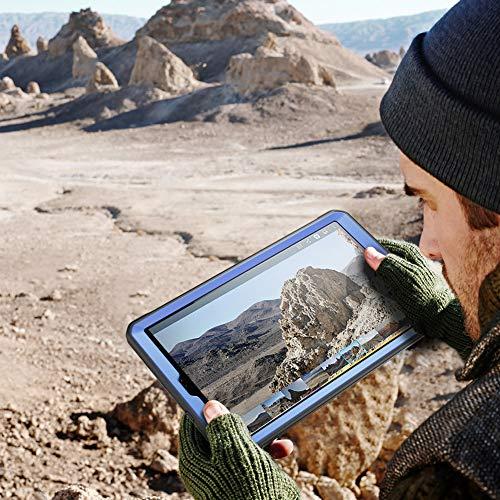 SUPCASE Unicorn Beetle Pro Series Hülle für Galaxy Tab A 10.1 (2019 Release), robuste Ganzkörper-Schutzhülle mit integriertem Displayschutz (schieferblau)