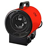 fam famgizmo 3000W Industrial Electric Fan Heater Space Fan Heater with Adjustable Thermostat