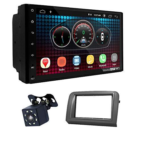 UGAR EX6 7' Android 6.0 DSP Navigazione GPS per Autoradio + 11-685 Kit di montaggio compatibile con FIAT Croma 2005-2010