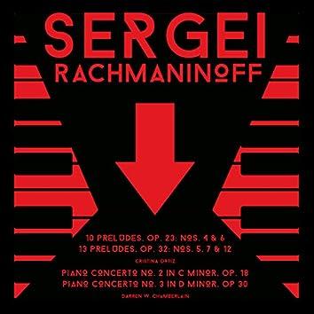 Sergei Rachmaninoff: Preludes & Piano Concertos