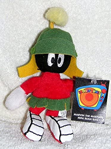 saludable Warner Bros Studio Store 6 Plush Marvin the Martian Mini Mini Mini Bean Bag Doll by Warner Bros  entrega rápida
