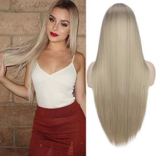 haz tu compra pelucas pelo ondulado rubia on line