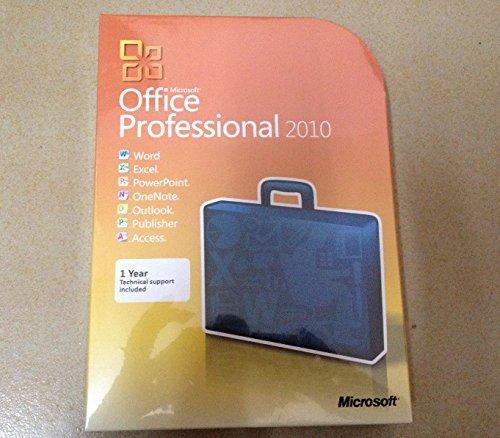 Microsoft Office Professional 2010 Software 32/64-Bit (3 Computer/s) (3)