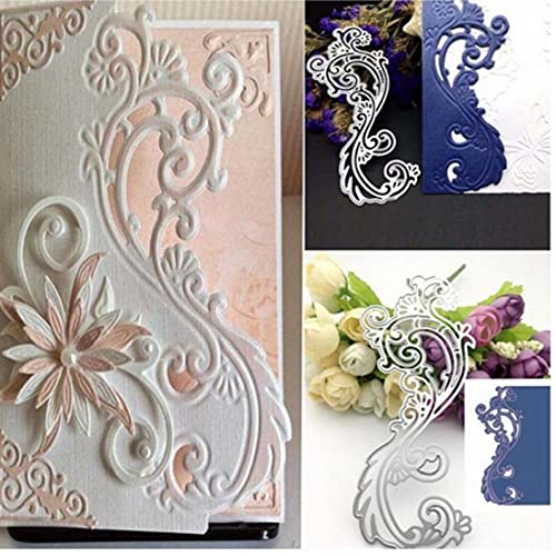 Ruluti Toy Intelligenza Carta Il Taglio di Metalli Stampo di Taglio Stencil Papercut DIY Scrapbooking Album Goffratura Decorativo Carte Cartella, 3 X 2cm