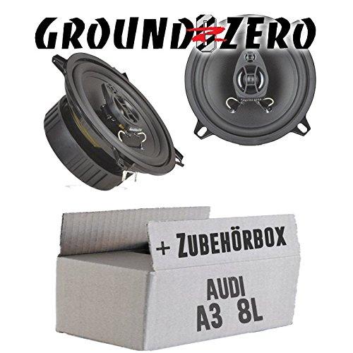 Ground Zero GZIF52X - 13cm Lautsprecher Koaxe - Einbauset für Audi A3 8L - JUST Sound Best Choice for caraudio