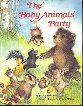 Hardcover Baby Animal Party Book