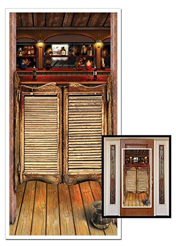 Saloon occidentale porta decorazione partito