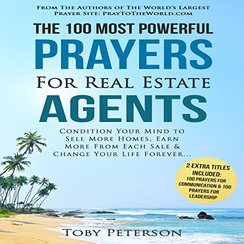 The 100 Most Powerful Prayers for Real Estate Agents audiobook cover art