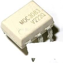 10pcs MOC3083 M0C3083 DIP-6 Triac & SCR Output Optocouplers 800VDRM IFT=5mA 6 Pin Optocoupler Original