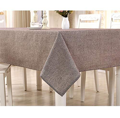 ggzgyz Jardín Mantel Moderno de algodón Mantel Simple Simple Mantel de té manteles de Comedor Mantel Rectangular para el hogar