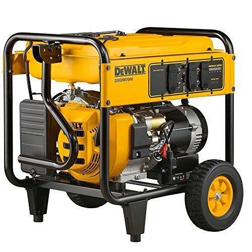 DEWALT PMC167000.01 DXGNR7000 Portable Generator, Yellow, Black Generators