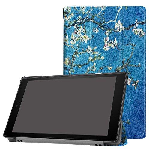 Cover für Amazon Fire HD10 10.1 2017/2019 Tablet Hülle Klapp-Tasche Halterung Case + Gratis Stylus Pen