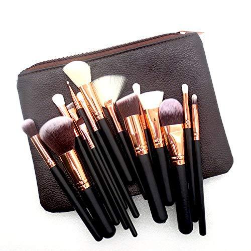 WBXZAL-Pinceau de maquillage pinceau de maquillage ensemble brown pinceau de maquillage, blush foundation brosse - brosse outil de beauté.