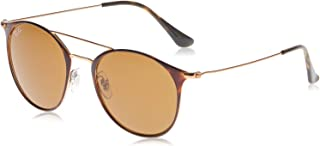 Ray-Ban Women's Round Browbar Sunglasses