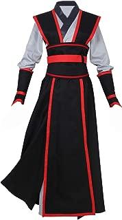 NSOKing Grandmaster Demonic Cultivation Mo Dao Zu Shi Cosplay Chinese Wei Wuxian Juvenile Yiling Costume Hanfu