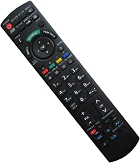 Hotsmtbang Replacement Remote Control For Panasonic TC-P55ST30 TC-P50GT30 TC-P54Z1M TC-P55GT30 TC-P55ST50 TC-P50VT3 TC-P42ST30UA TC-P60ST30UA Viera Plasma HDTV TV