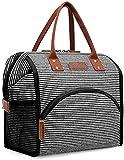 MVNZXL Lunch Box, Lunch Bag for School Work Picnic, Borsa da Donna di Grande capacità Thermo Food Bags, Borsa Termica Termica