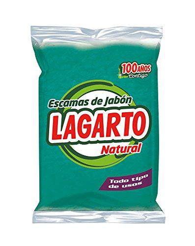 Lagarto Escamas de Jabón Natural Verde - Paquete de 12 x 250 gr - Total: 3000 gr