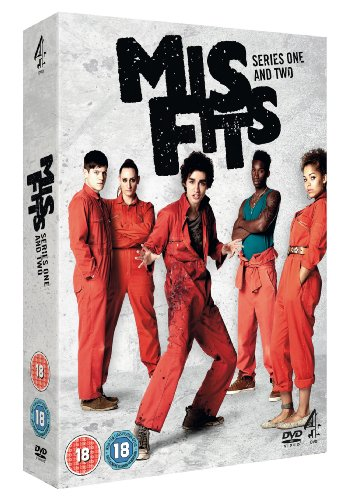 Misfits - Series 1 and 2 Box Set [DVD] [Reino Unido]