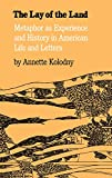 The Lay of the Land: Metaphor As Experience and History in American Life and Letters