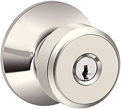 WEISER Lock GA531 P 15 SMTK4 MS 6LR1 Phoenix Entry Knob Satin Nickel