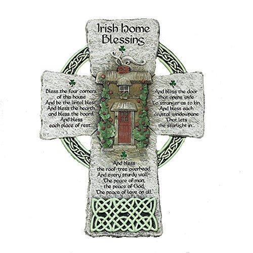 Abbey Gift Irish Home Blessing Cross