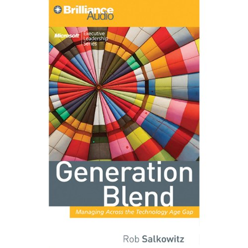 Generation Blend audiobook cover art