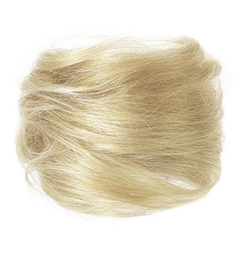 American Dream Luxueux Chignon 100 % Cheveux Humains Couleur 16 Blond Sahara Grand