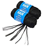 100% Brazilian Wool Hair Acrylic Yarn For African Hair Jumbo...