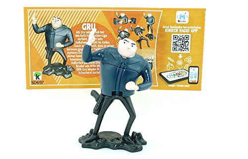 Kinder Überraschung, GRU Figur (SD697) mit Beipackzettel von den Minions 3