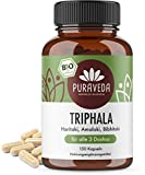 Bio Triphala Kapseln - Ayurveda Dreifrucht - Haritaki