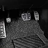 Pedal del coche Pedales coche, for Nissan nuevo X TRAIL 2013 2014 2015 2016 Pedales cojín de accesorios de coche Acelerador de gas del freno de pie Resto embra EN cojín del pedal, Nombre de color: 3PC