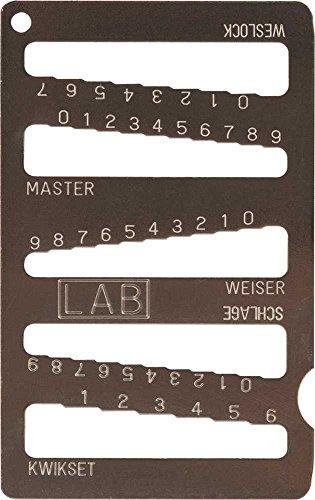 LAB LKG001 5 N 1 Key Gauge