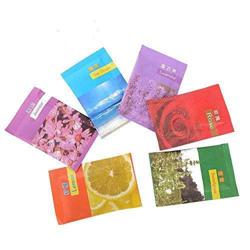 EOPER 50 bolsitas perfumadas de alta calidad con aroma a vainilla para cajones, ropa, armarios, habitaciones, baños, coches, etc.