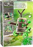 HABA 305342 - Terra Kids Connectors - Konstruktions-Set Technik, Kinder-Bastelset für bewegliche Konstruktionen, Verbinder aus Kunststoff für Holz und Kork, mit Handbohrer und Anleitung