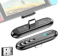 【Émetteur Bluetooth de Type C】Spécialement conçu pour Switch et Switch Lite] , il permet à votre console de se connecter aux appareils Bluetooth. Vous pouvez désormais utiliser un casque Bluetooth pour une expérience de jeu immersive, ce qui permet d...