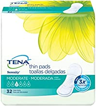 Tena Incontinence Pads For Women, Moderate Thin, Long, 32 Count