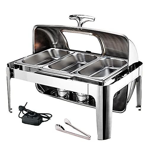 DBMGB 9L Chafing Dish Eléctrico, Calentador De...