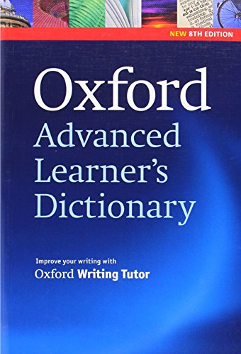 Oxford Advanced Learner\'s Dictionary, 8th Edition: Paperback