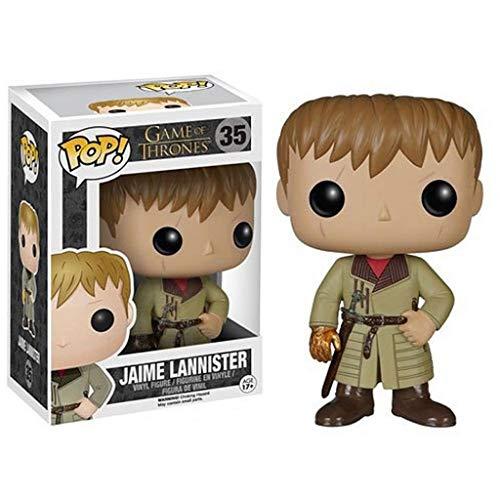 MMZ Juego de Tronos - Jaime Lannister en Caja Adornos Juego De Tronos Regalos Figura Coleccionable 10CM